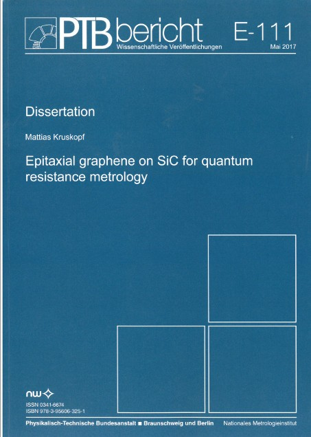 Epitaxial graphene on SiC for quantum resestance metrology