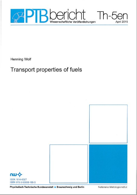 Transport properties of fuels
