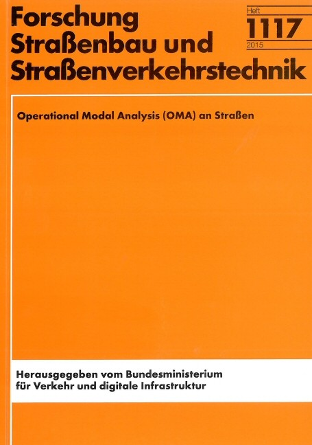 Operational Modal Analysis (OMA) an Straßen