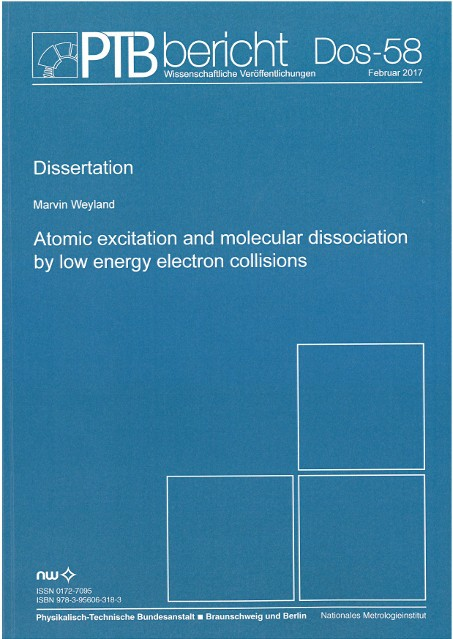 Atomic exciation and molecular dissociation by low energy electron collisions