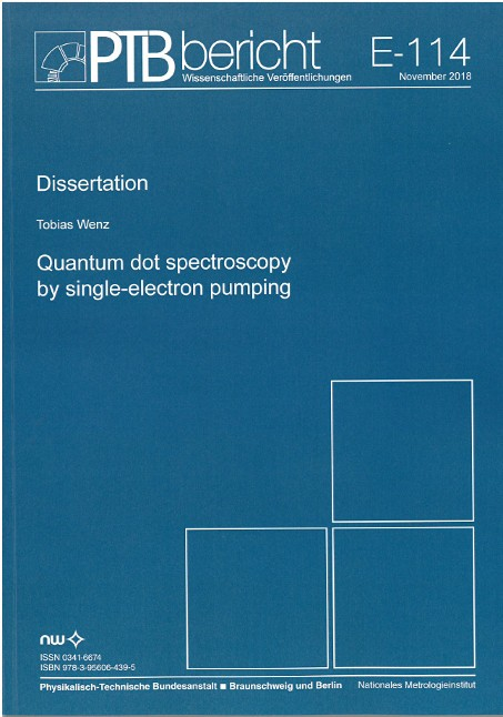 Quantum dot spectroscopy by single-electron pumping