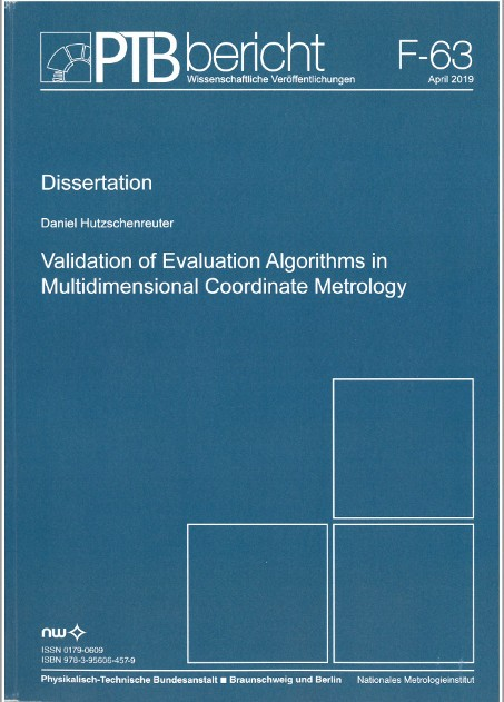 Validation of Evaluation Algorithms in Multidimensional Coordinate Metrology