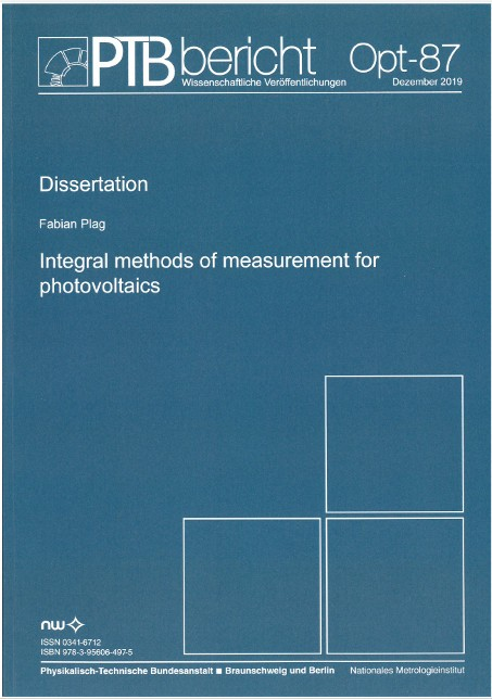 Integral methods of measurment for photovoltaics