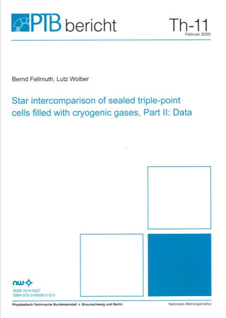 Star intercomparison of sealed triple-point cells filled with cryogenic gases, Part II: Data