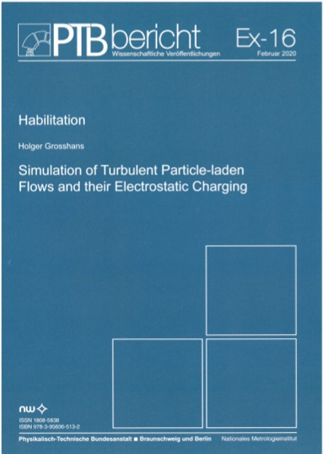 Simualtion of Tubulent Particle-laden Flows and their Electrostatic Charging