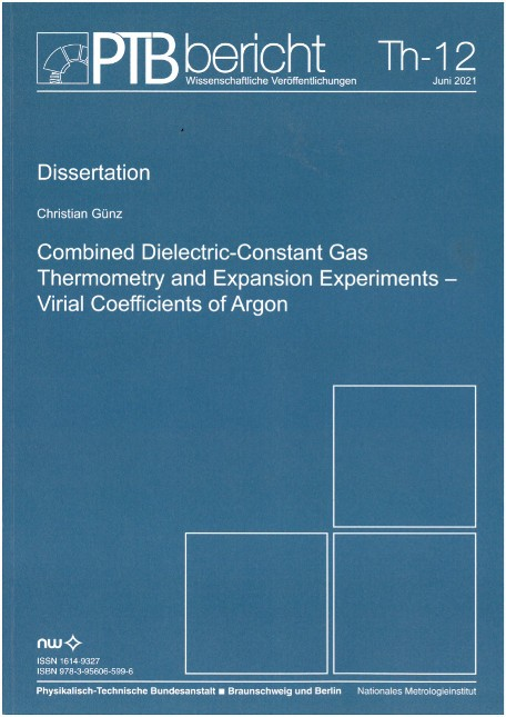 Combined Dielectric-Constant Gas Thermometry and Expansion Experiments - Virial Coefficients of Argon