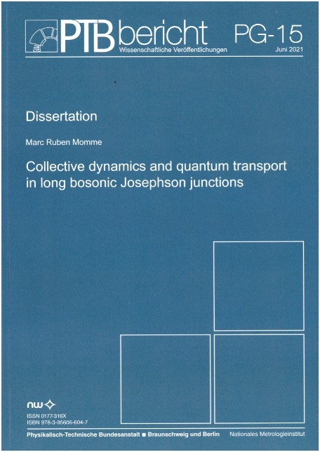 Collective dynamics and quantum transport in long bosonic Josephson junctions