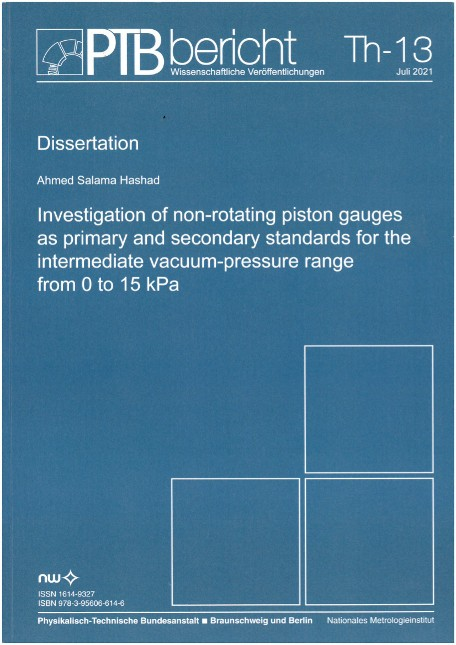 Investigation of non-roating piston gauges as primary and secondary standards for the intermediate vacuum-pressure range from 0 to 15 kPA