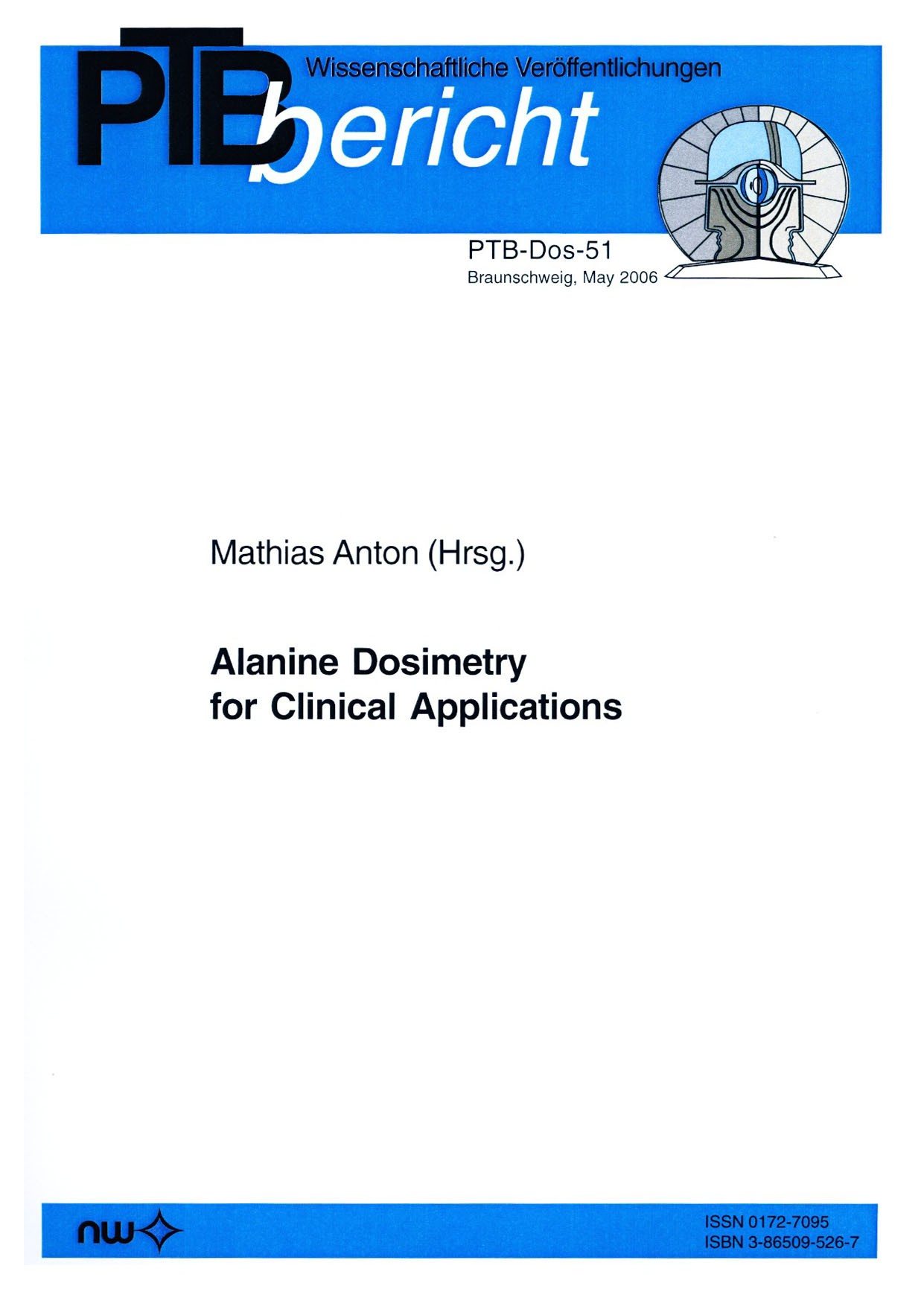 Alanine Dosimetry for Clinical Applications
