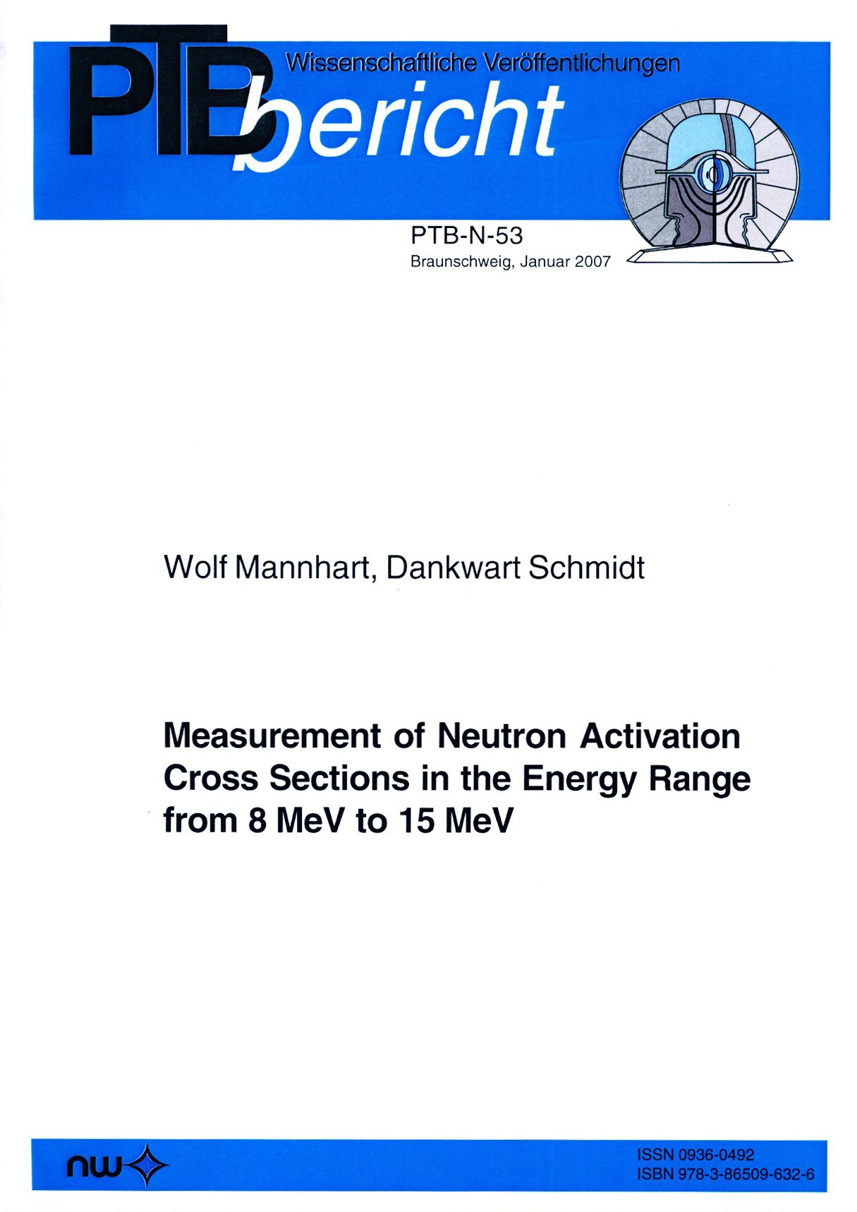 Measurement of Neutron Activation Cross Sections in the Energy Range from 8 MeV to 15 MeV